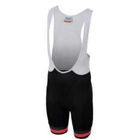 Sportful Tour 2.0 Short de cyclisme Enfant, black/orange sdr